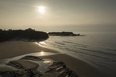 Playa de Os Castros (CeliaQuintillan) Tags: sun seascape beach water sand lugo ribadeo