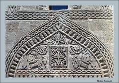 Lindos Rodos (Eleanna Kounoupa) Tags: coatofarms mediterranean greece rodos lindos architecturaldetails  dodecaneseislands