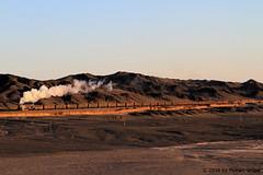 I_B_IMG_7503 (florian_grupp) Tags: china railroad train landscape asia mine desert muslim railway steam xinjiang mikado locomotive ore js steamlocomotive 282 opencastmine yamansu