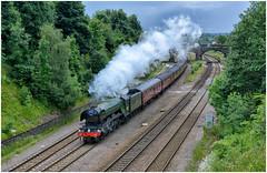 60103. 'The Yorkshireman'. (Alan Burkwood) Tags: masborough lner gresley a3 pacific 60103 flyingscotsman theyorkshireman steam locomotive