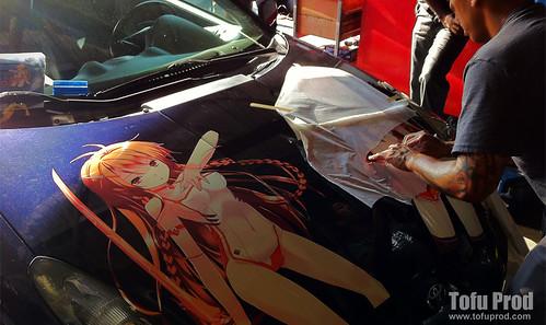 Toyota Celica Itasha Install