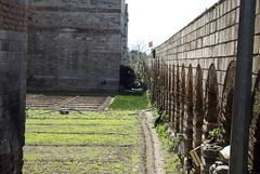 Gardens in the moat of the Belgrade Gate, Towers 22 - 23