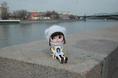 Goya on the embankment of the Moskva River