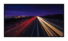 A1 Light Trails (vistasandviewpoints.co.uk) Tags: longexposure nightphotography landscape washington motorway lighttrails a1 a1m tyneandwear creativeshutterspeed viewpointsandvistascouk