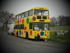 Spotty Bus Cafe SND518X (The original SimonB) Tags: bus buses suffolk cafe transport spotty april ipswich 2012 leyland nacton atlantean snd518x