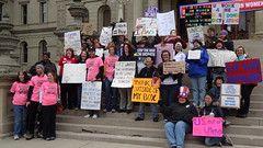 Rally Against the War on Women, Lansing, MI April 28, 2012 (Peace Education Center) Tags: women protest womens rights equal waronwomen