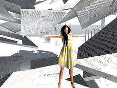 I'm an open Book [1/1] (Mondra Kira) Tags: fashion dress mesh style heels pichi chic mons cultureshock aliceproject modavia koketka mondrakira fameshed papermakins