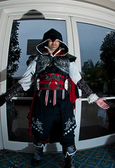 Anime Conji 2012 -  Ezio Auditore Da Firenze (MisledYouth74) Tags: cosplay cosplayers assassinscreed ezioauditoredafirenze animeconji animeconji2012