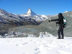 Studying How Debris Influences Glaciers (NASA Goddard Space Flight Center) Tags: snow ice nasa glacier