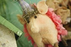 CircusLife: pig [2] (craft:nosis) Tags: party animal stuffed pattern handmade circus sew felt stuffies woolfelt