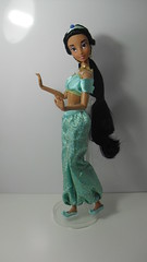Jasmine doll (Danidollcollector) Tags: sleeping ariel beauty la store dolls princess charlotte jasmine barbie disney aurora bella cinderella yasmin tiana pocahontas durmiente muecas cenicienta princesas bouff