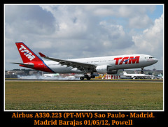 Otro menos en la lista (Powell 333) Tags: madrid red espaa plane canon carpet eos spain day open aircraft magic 330 7d planes powell pt avin tam a330 avion aviones barajas 223 mmv openday airbusa330 a330223 airbus330 madridbarajas 330223 themagicredcarpet ptmvv