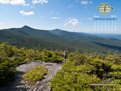 Hiking up Maple Ridge, Mt. Mansfield, Vermont (Ecopixel-VT) Tags: summer wallpaper mountains vermont view hiking stowe mapleridge mtmansfield mansfield desktopphoto mountmansfield desktopcalendar greenmountainclub ecopixel