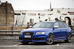 IMG_8840 kopie (Can.onball) Tags: auto blue berlin cars german blau audi v10 rs6