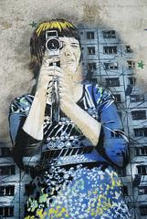Vous tes films ! You're on camera ! (patoche21) Tags: streetart paris france nikon paint peinture popart iledefrance butteauxcailles idf artdelarue 18200mm d80 artpopulaire 13mearrondissement nikonpassion patrickbouchenard