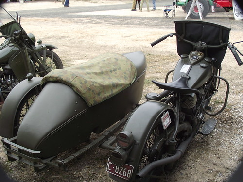 1944 Indian 344 Army Motorcycle & Sidecar - a photo on