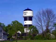 Buckeye Lake Water Tower (J. Stephen Conn) Tags: ohio watertower oh lickingcounty