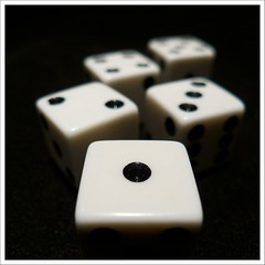 (131/366) Roll of the Dice (Free 2 Be) Tags: dice game flickr numbers photoaday roll 2012 366 project365 365days 365challenge postaday 15challengeswinner 365community captureyour365