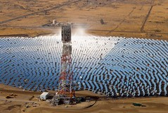 Solar tower and field (BrightSource Energy) Tags: california ca usa mountains desert horizon unitedstatesofamerica pipe well hills northamerica waste wilderness ste pipeline deserted climatechange sustainability coalinga centralvalley wasteland drilling sanjoaquinvalley mounts renewableenergy solarpower solarenergy greenenergy greenpower gaspipe gasindustry eor bigoil sustainableenergy oilproduction oilindustry solarpowerplant co2reduction savetheclimate solartechnology sustainablepower gasproduction solarthermalenergy solarthermalpowerplant solarthermalsystem concentratedsolarpowercsp solarconcentratingmirrorsystem centralreceiversystem solarpowertowerplant centraltowerpowerplant heliostatpowerplant centralreceiverpowerplant thermalsolarsystem enhancedoilrecovery
