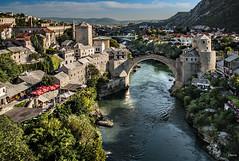 Stari Most (Mostar, Bosnia herzegovina) (dleiva) Tags: rio architecture puente arquitectura europa europe mostar bosnia paisaje most viejo domingo stari leiva dleiva herzegobina