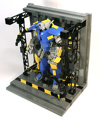(DARKspawn) Tags: bay robot lego mecha mech gantry battloid darkspawn
