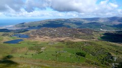 View from Tyrrau Mawr, Cader Idris