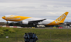 Scoot Air B777-200 (altinomh) Tags: plane airport aviation sydney engine twin australia mini seven nsw newsouthwales boeing syd 777 triple spotting jumbo sydneyairport b777 yssy etops minijumbo worldliner