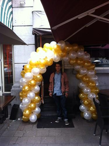 Ballonboog 5m Coctailbar Elit Rotterdam