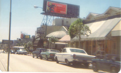 Sunset Strip, 1974 (nick f2007) Tags: 1974 westhollywood sunsetblvd sunsetstrip sunsetplaza cyranosrestaurant