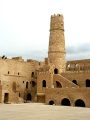 Tower outlook (melissaenderle) Tags: africa architecture ancient northafrica tunisia fortress monastir ribat