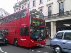 Stagecoach East London Alexander Dennis Enviro400 'Spirit of London' (19000 - LX55 HGC) 15 (London Bus Breh) Tags: route15 alexanderdennis spiritoflondon enviro400 stagecoachlondon lx55hgc