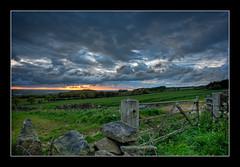 135/366 Parbold sunset (Mister Oy) Tags: sunset landscape daily southport hdr par bold davegreen 366 1aday nikond700 oyphotos