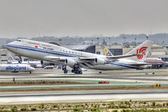 Air China Boeing 747-4J6 (B-2471) (ChicagoKoz (ORDSpotter) @Kozphotog) Tags: china airplane losangeles aircraft aviation boeing lax heavy hdr airliner b747 747400 widebody airchina klax b744 aircraftspotting 7474j6
