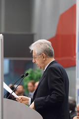 Prime Minister of Italy Mario Monti