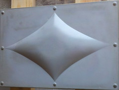 "Diamond wall cladding 18"" x 9"" (da squash) Tags: concreteart concretedesign customconcrete fiberreinforcedconcrete concretewallcladding"