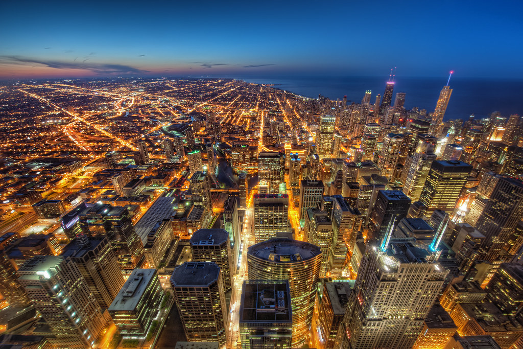 Chicago from the Willis Tower Skydeck