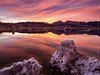 Reflections of Mono Lake (Jim Patterson Photography) Tags: california travel sunset sky lake mountains color nature reflections landscape outdoors photography colorful vivid monolake sierranevada eastern southtufa jimpattersonphotography jimpattersonphotographycom seatosummitworkshops seatosummitworkshopscom