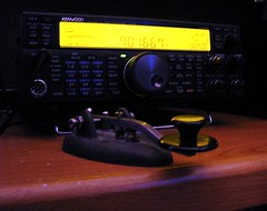Ham Radio-Gearing Up For Field Day, Old Key Ready For A Road Trip (Daryll90ca) Tags: hamradio