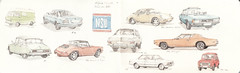 Miniatures de Voitures Page 3 (Flaf) Tags: b 2 colour water vw pencil volkswagen munich mnchen drawing 4 citroen ds monaco renault porsche bmw dodge florian 1972 sti coupe peugeot charger lt r4 opel carrera freie targa 604 nsu nymphenburg 964 3er kadett neuhausen e21 flaf gtl afflerbach zeichnerei