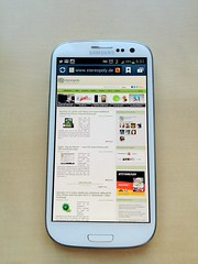 test review samsung galaxy s3 android testbericht touchwizux