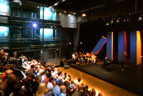 The Linbury Studio at The Royal Opera House © ROH 2012