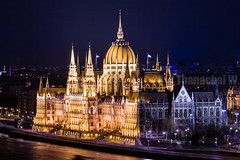 Night View of Hungarian Parliament Building (Beum Gallery) Tags: longexposure architecture night river europe hungary nightshot budapest style parliament nightview parlement magyar nuit danube fleuve magyarorszg gothicrevival hongrie  photographiedenuit gothicrevivalstyle nogothique  stylearchitectural           beumphotography