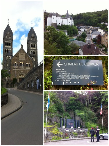 Clervaux, a village of Luxembourg