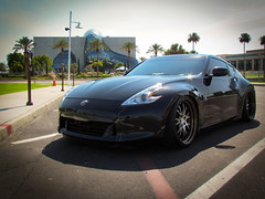 "WORK Gnosis GS4 - Burning Black Face + Bronze Lip on 370Z • <a style=""font-size:0.8em;"" href=""http://www.flickr.com/photos/64399356@N08/7340110198/"" target=""_blank"">View on Flickr</a>"
