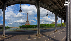 Under Bir-Hakeim (A.G. Photographe) Tags: sky cloud fish paris france seine french nikon raw eiffeltower eiffel fisheye ciel toureiffel champdemars ag fx nuage pniche 16mm quai hdr parisian anto d800 parisienne xiii parisien gustaveeiffel antoxiii hdr5raw agphotographe oeilpoisson