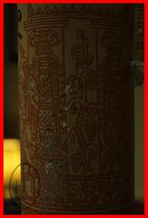 Scribing Cyrillic in the shadow of Jachin and Boaz (109) (PHH Sykes) Tags: red max rot bottle wine imperial plus vin sa aus moldova wein kishinev gmbh pleseni moldawein sudmoldawien