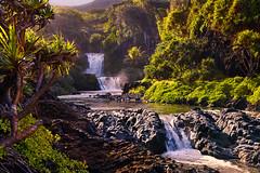 No Swimming Today! (mojo2u) Tags: hawaii maui falls hana sevensacredpools pipiwaitrail oheogulch haleakalanationalpark 7sacredpools nikon2470mm nikond700 7poolsofoheo