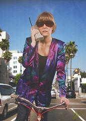 Charlophone (WOLF CHOIR) Tags: bike bicycle tropical carphone solarshields losangelescharlotte