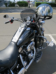 Unusual Bikes (#0314) (Kordian) Tags: transportation gps mp6 canonpowershots100 unusualbikes carsroads