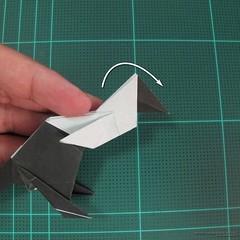 วิธีการพับกระดาษเป็นรูปจิงโจ้ (Origami Kangaroo) 033